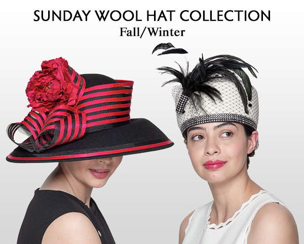 Sunday Wool Hats Fall and Winter