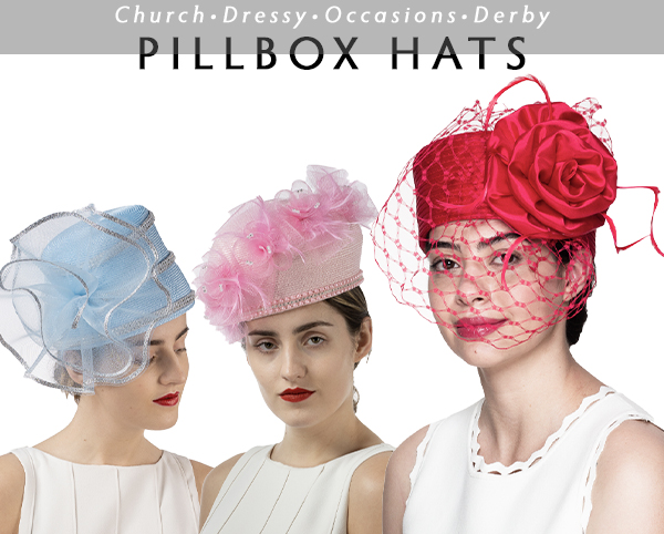 Sunday Pillbox Hats