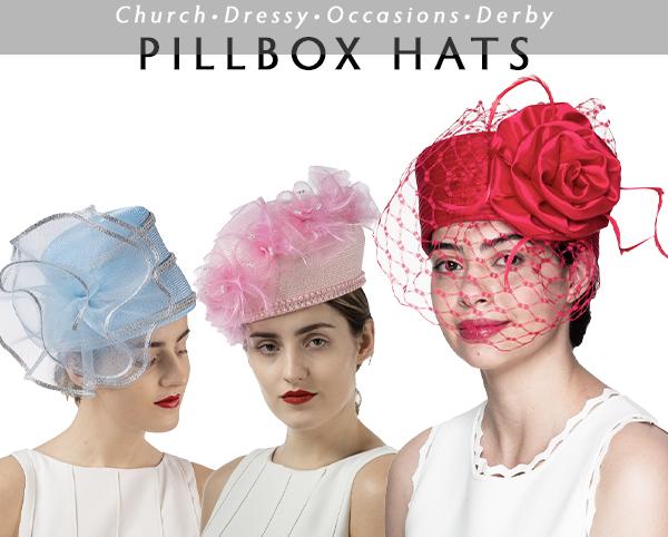 Sunday Pillbox Hats