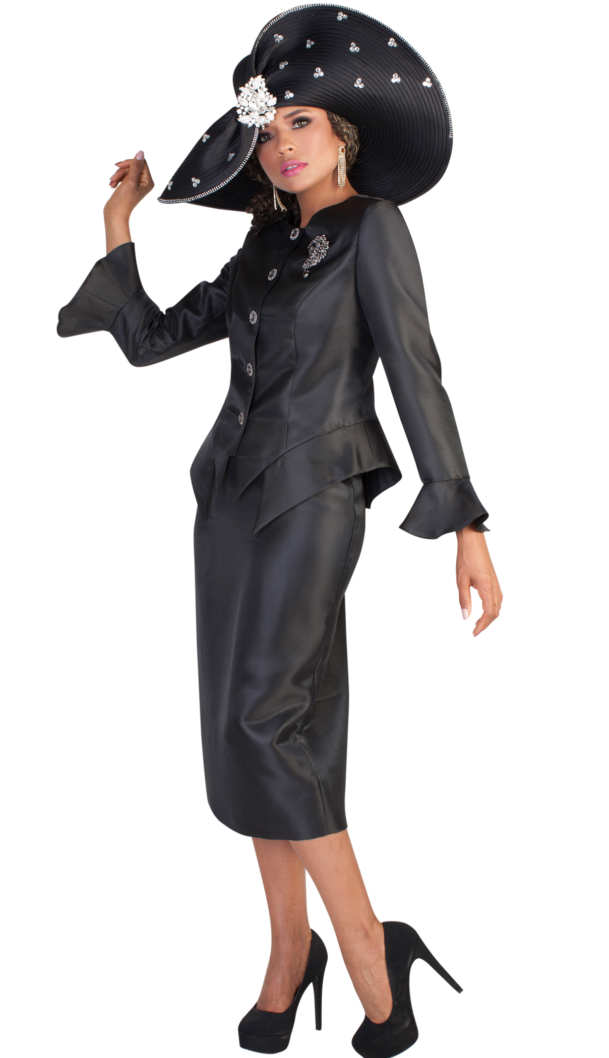 Tally Taylor Suit 4633-BLK