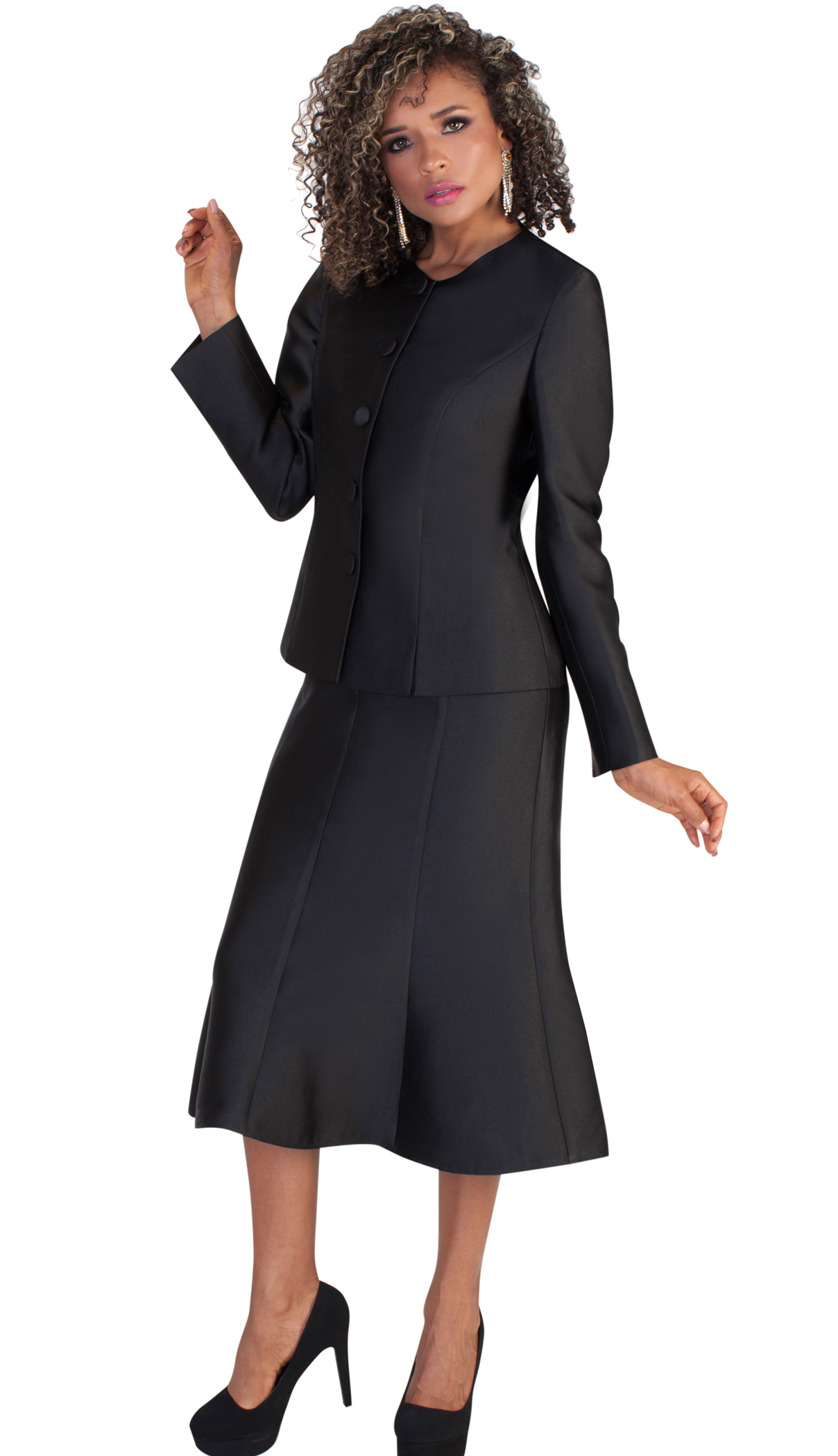 Tally Taylor Suit 4636-BLK