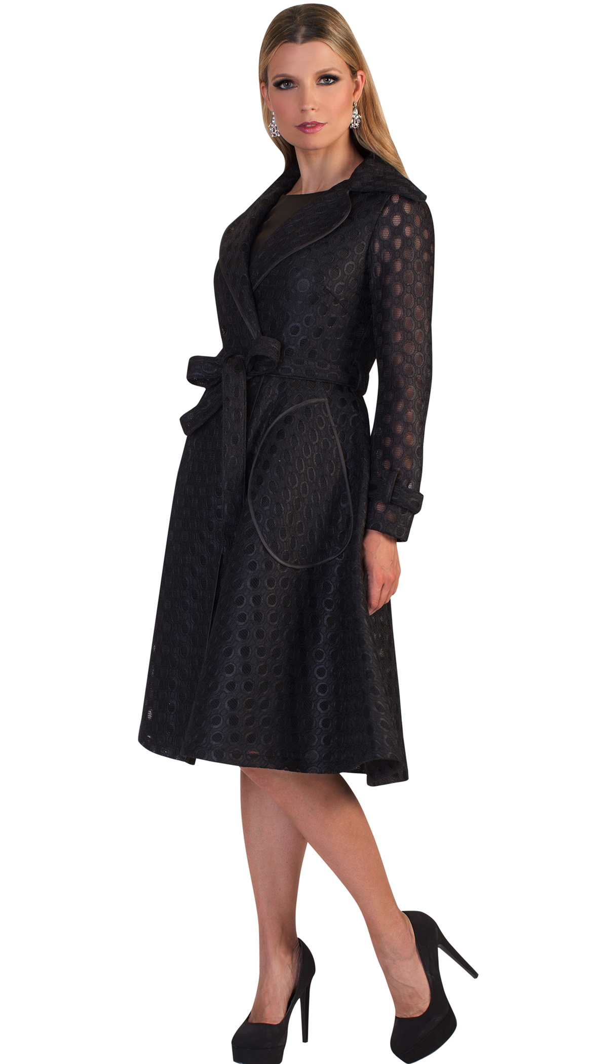 Tally Taylor Dress 4638-BLK