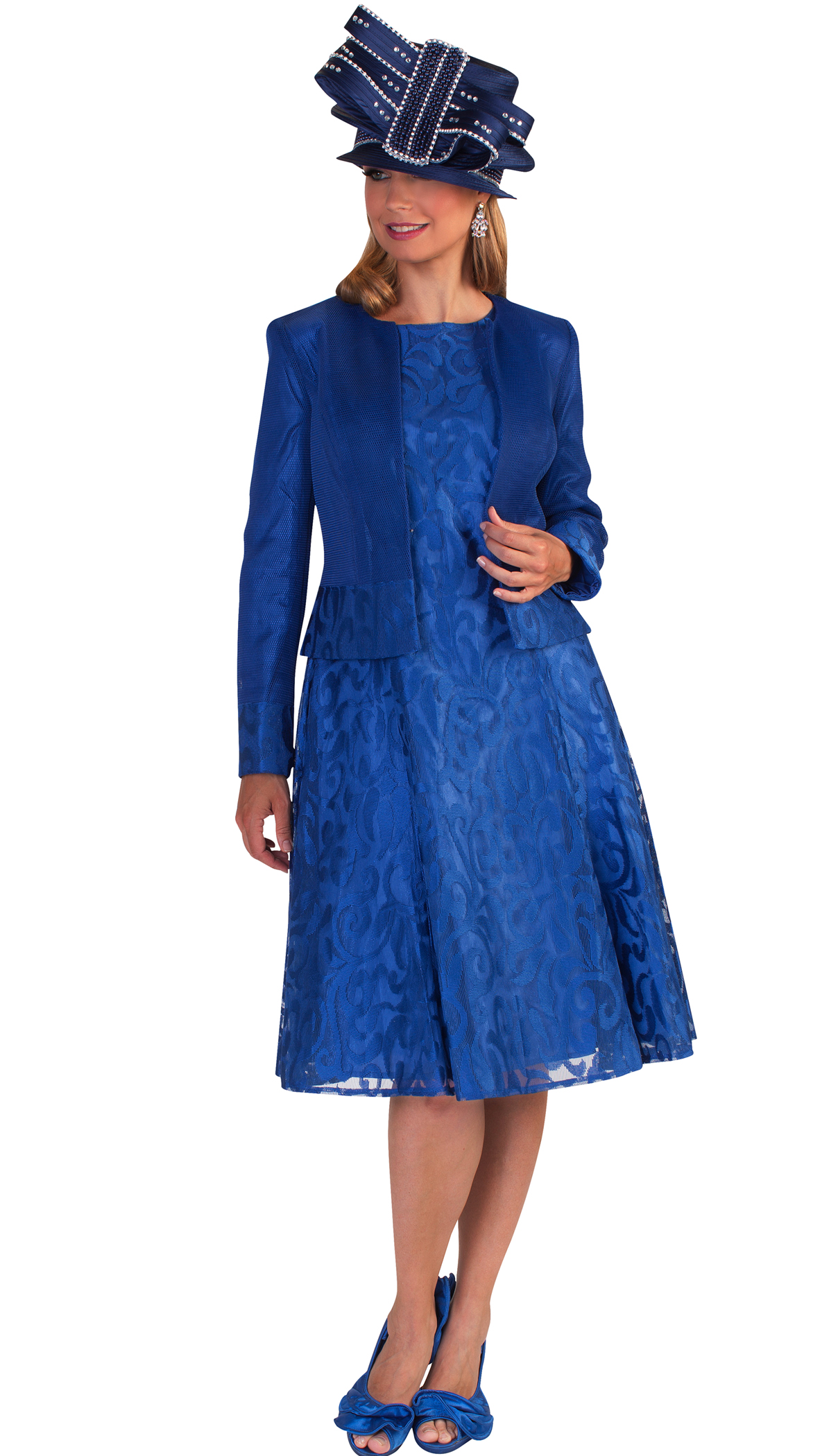 Tally Taylor Dress 4644-BLU-CO