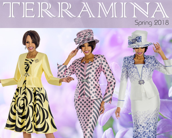Terramina Suits Spring and Summer 2018