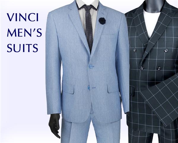 Vinci Mens Suits