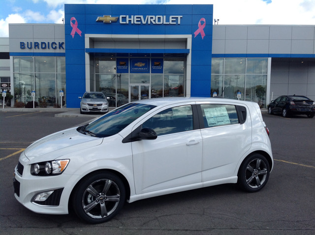 New 2016 Chevrolet Sonic in Cicero New York