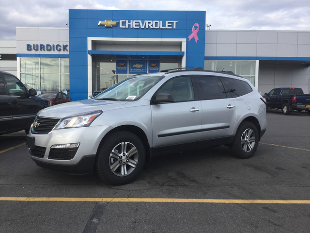 New 2018 Chevrolet Traverse in Cicero New York