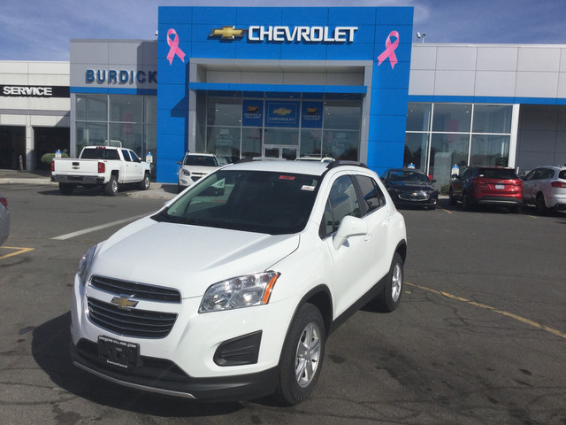 New 2018 Chevrolet Trax in Cicero New York