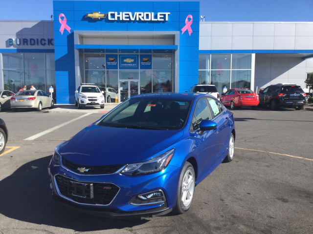 New 2018 Chevrolet Cruze in Cicero New York