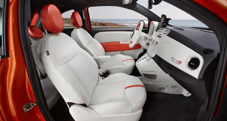 New Fiat 500e Interior main image