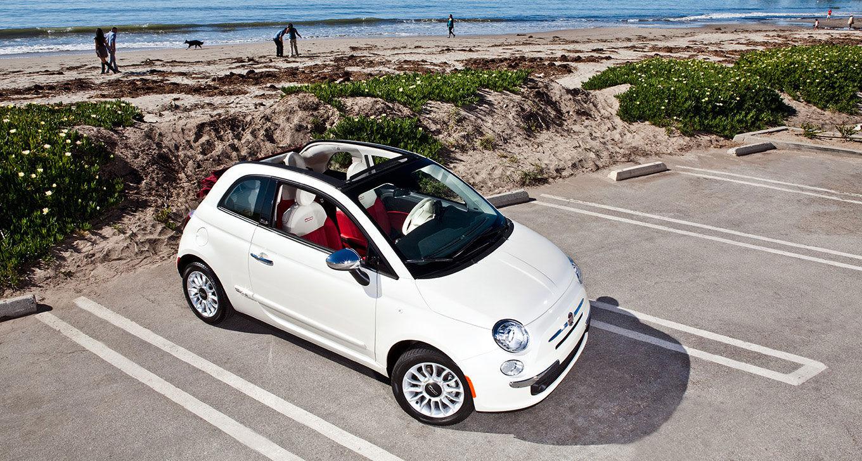 New Fiat 500C Exterior image 2
