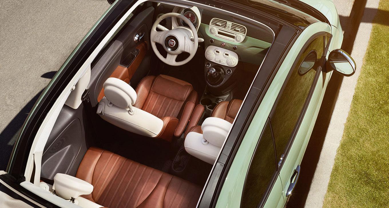 New Fiat 500C Interior image 1