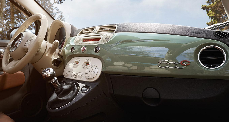 New Fiat 500C Interior image 2
