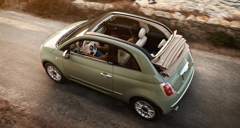 New Fiat 500C Interior main image