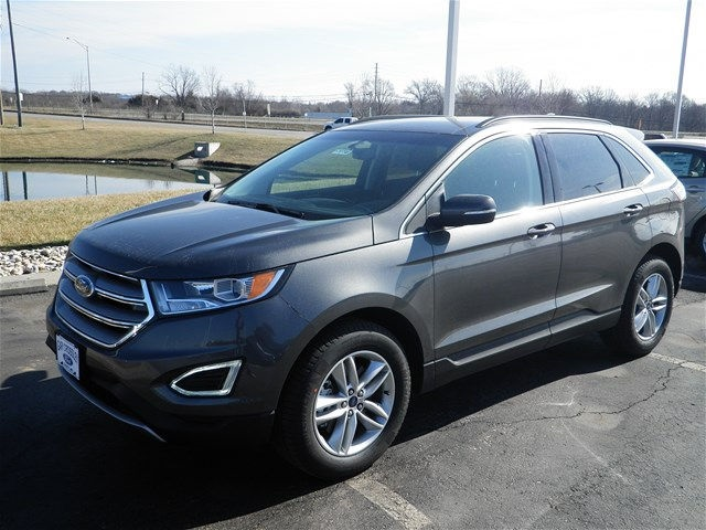 New 2017 Ford Edge SEL & Gary Crossley Ford | New Ford dealership in Kansas City MO 64158 markmcfarlin.com