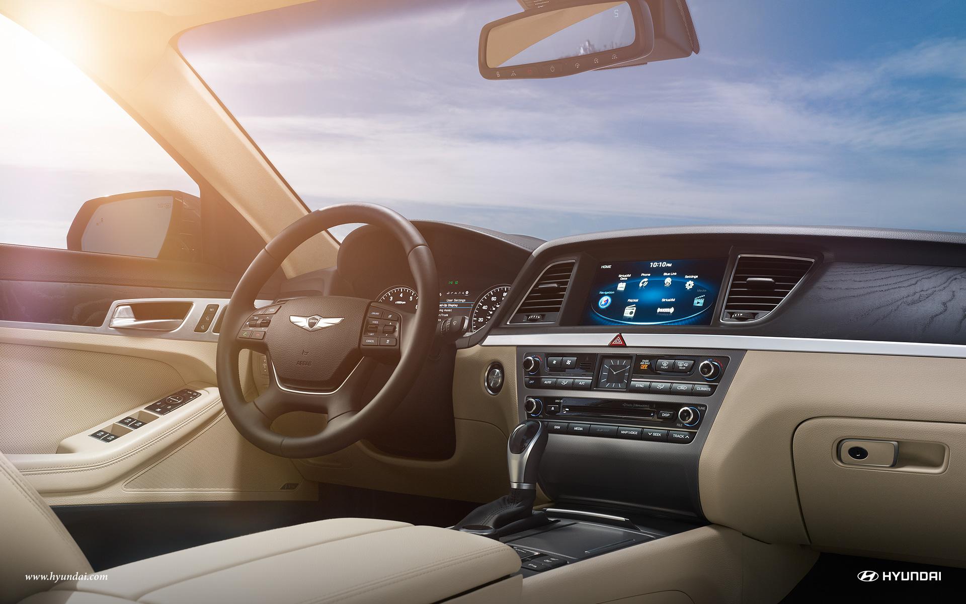 New Hyundai Genesis Interior Main Image