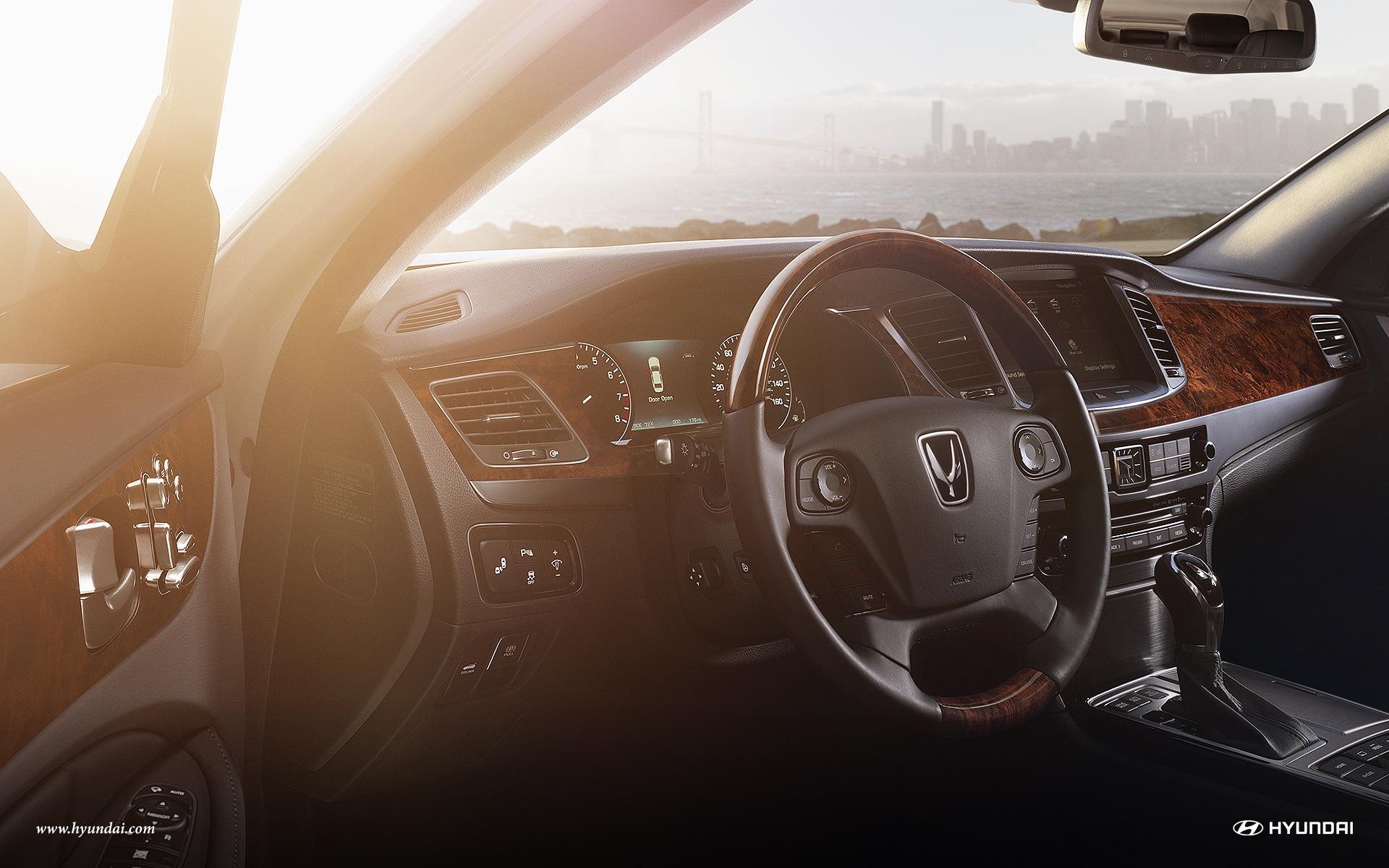New Hyundai Equus Interior Features