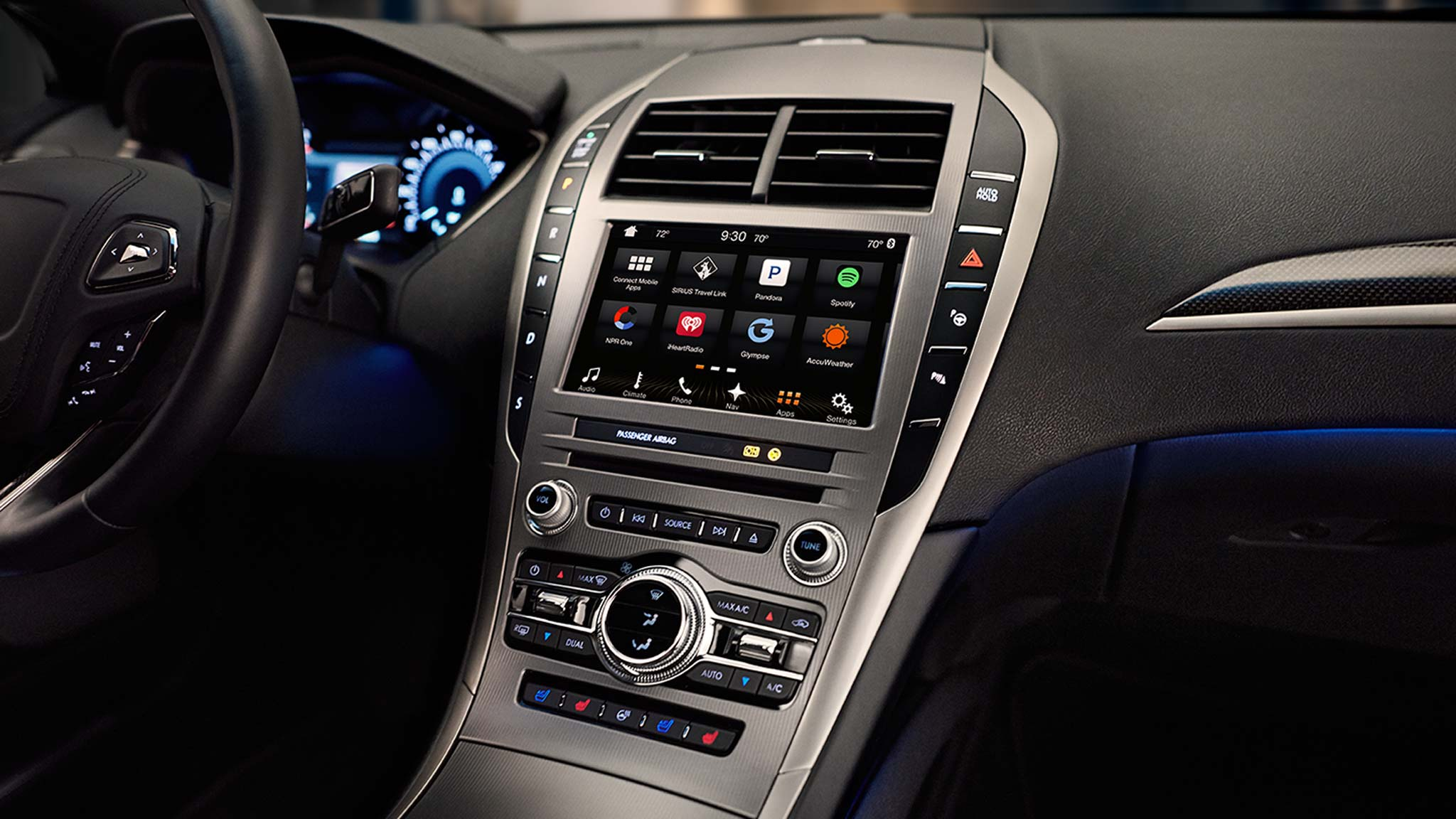 New Lincoln MKZ Interior main image
