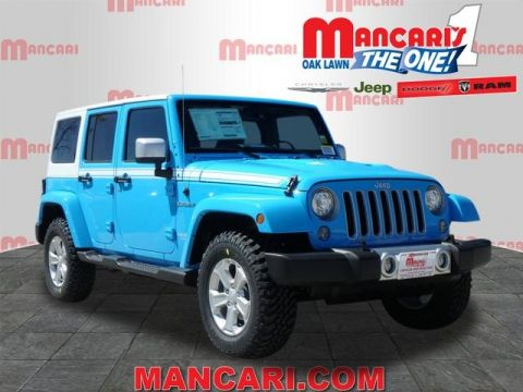 New 2017 Jeep Wrangler Unlimited in Oak Lawn Illinois