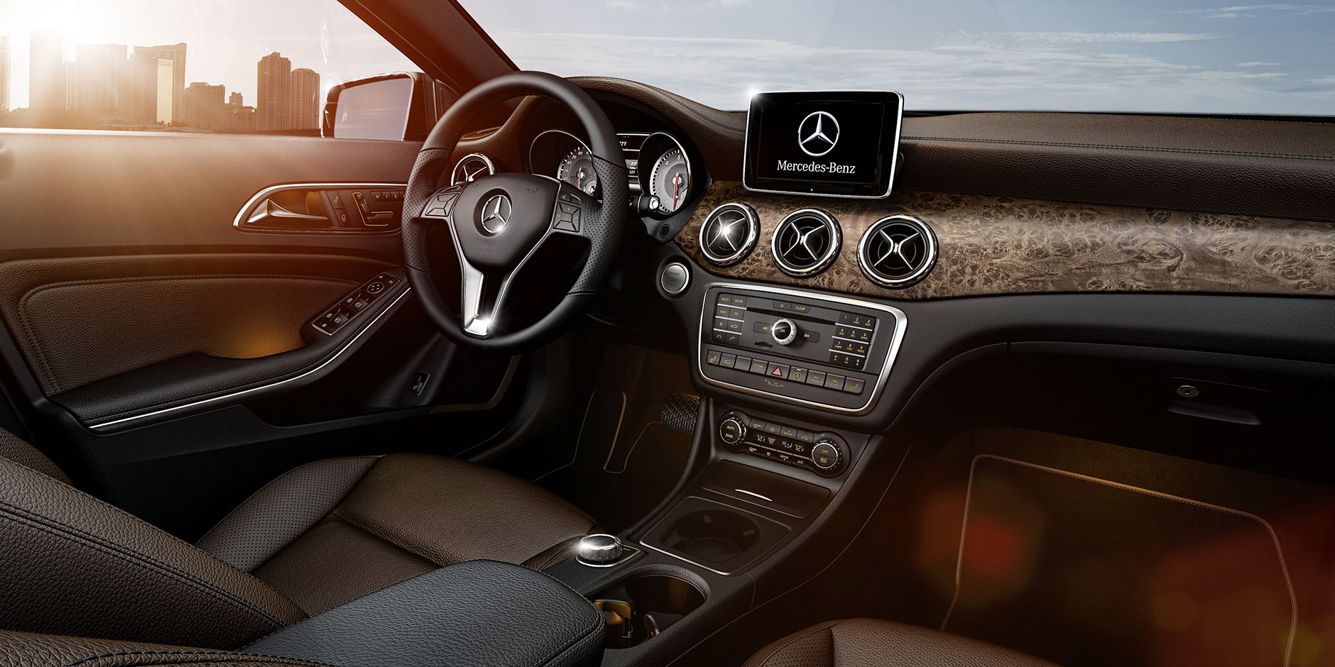 Mercedes benz gla interior colours for Mercedes benz service doylestown