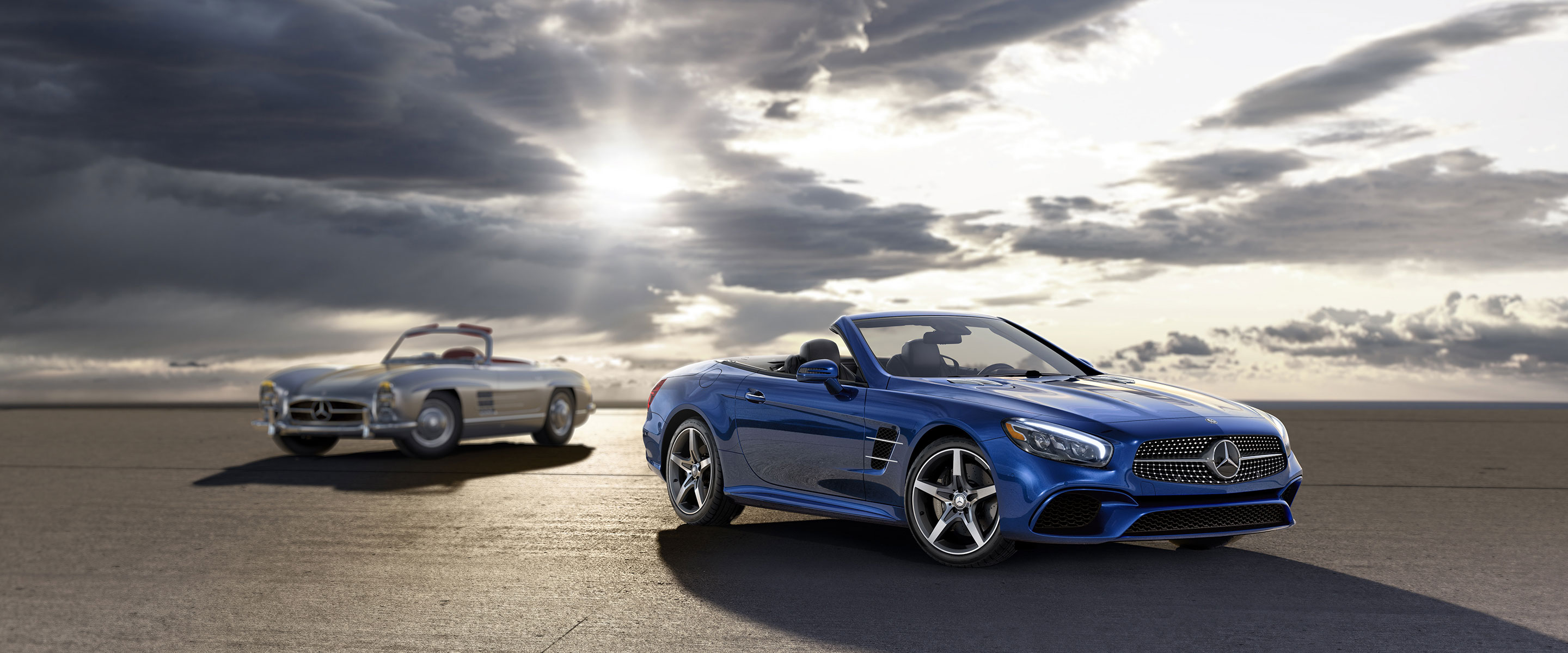New mercedes benz sl roadster lease and finance specials for Mercedes benz of louisville