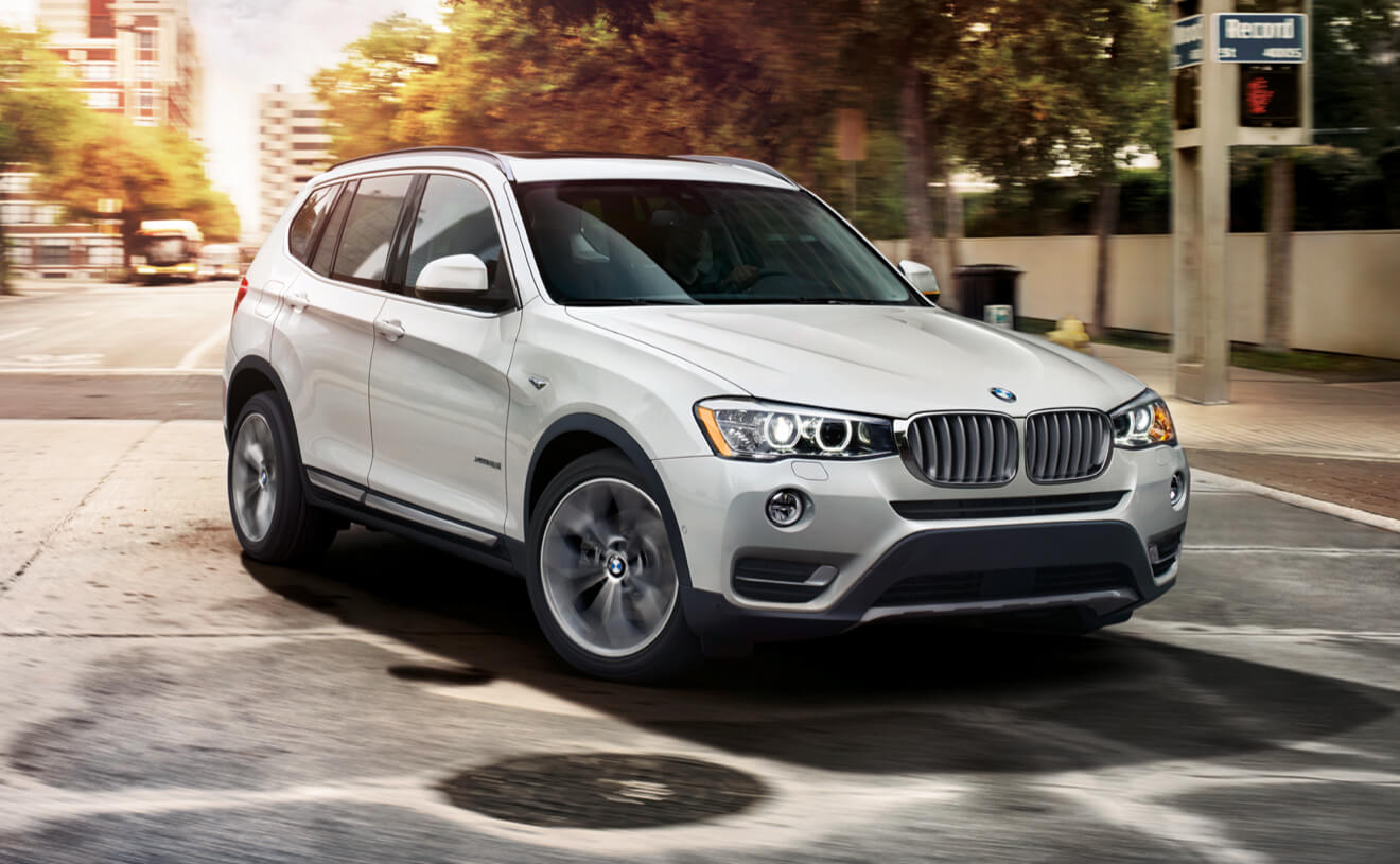 Bmw x3 exterior features