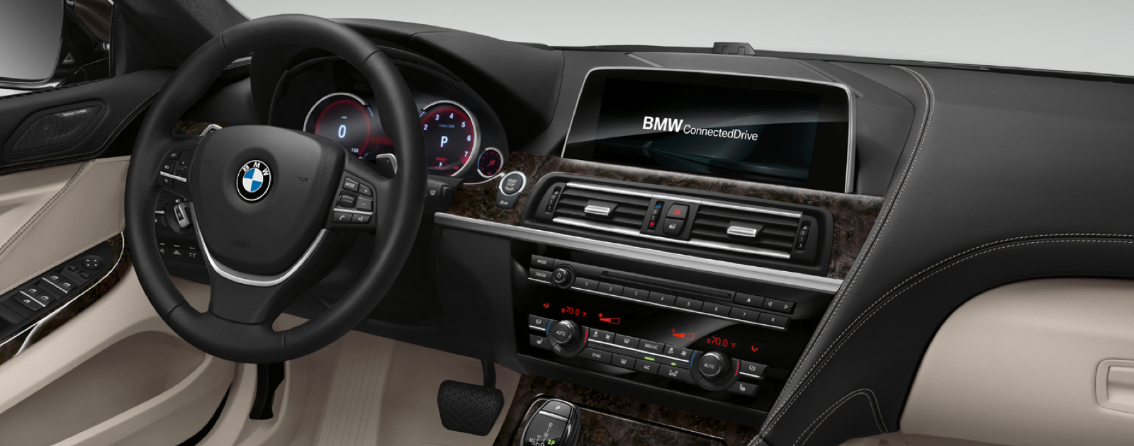 New bmw 6 series interior features