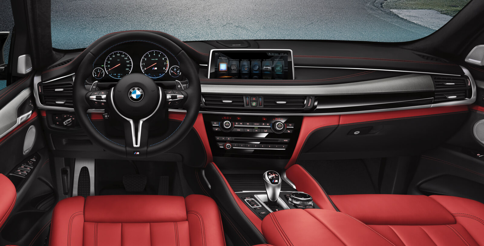 New BMW X5 M Interior Features
