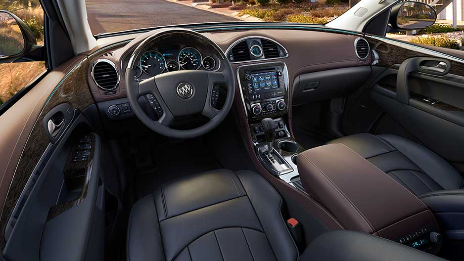 New Buick Enclave Interior main image