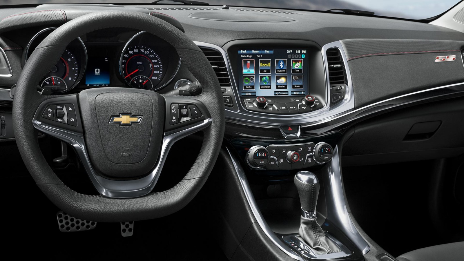 New Chevrolet SS Interior main image