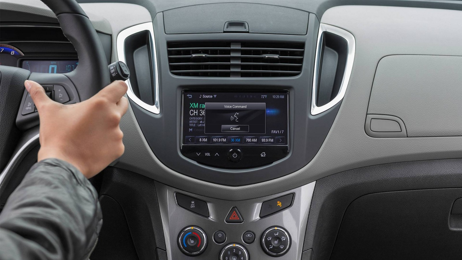 New Chevrolet Trax Interior image 1