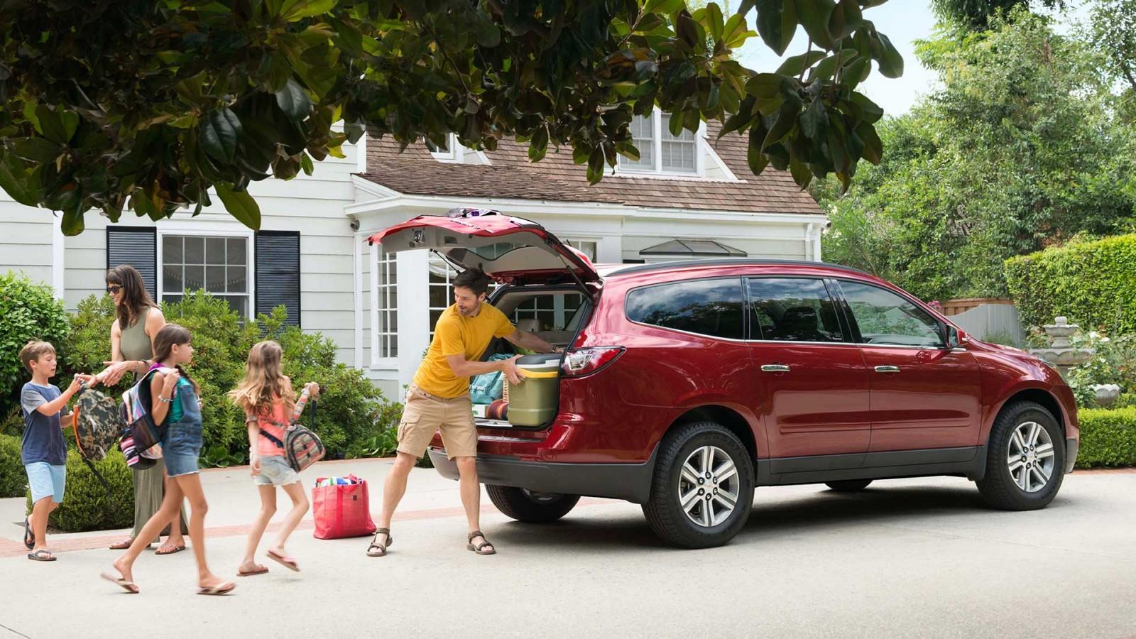 New Chevrolet Traverse Exterior image 1