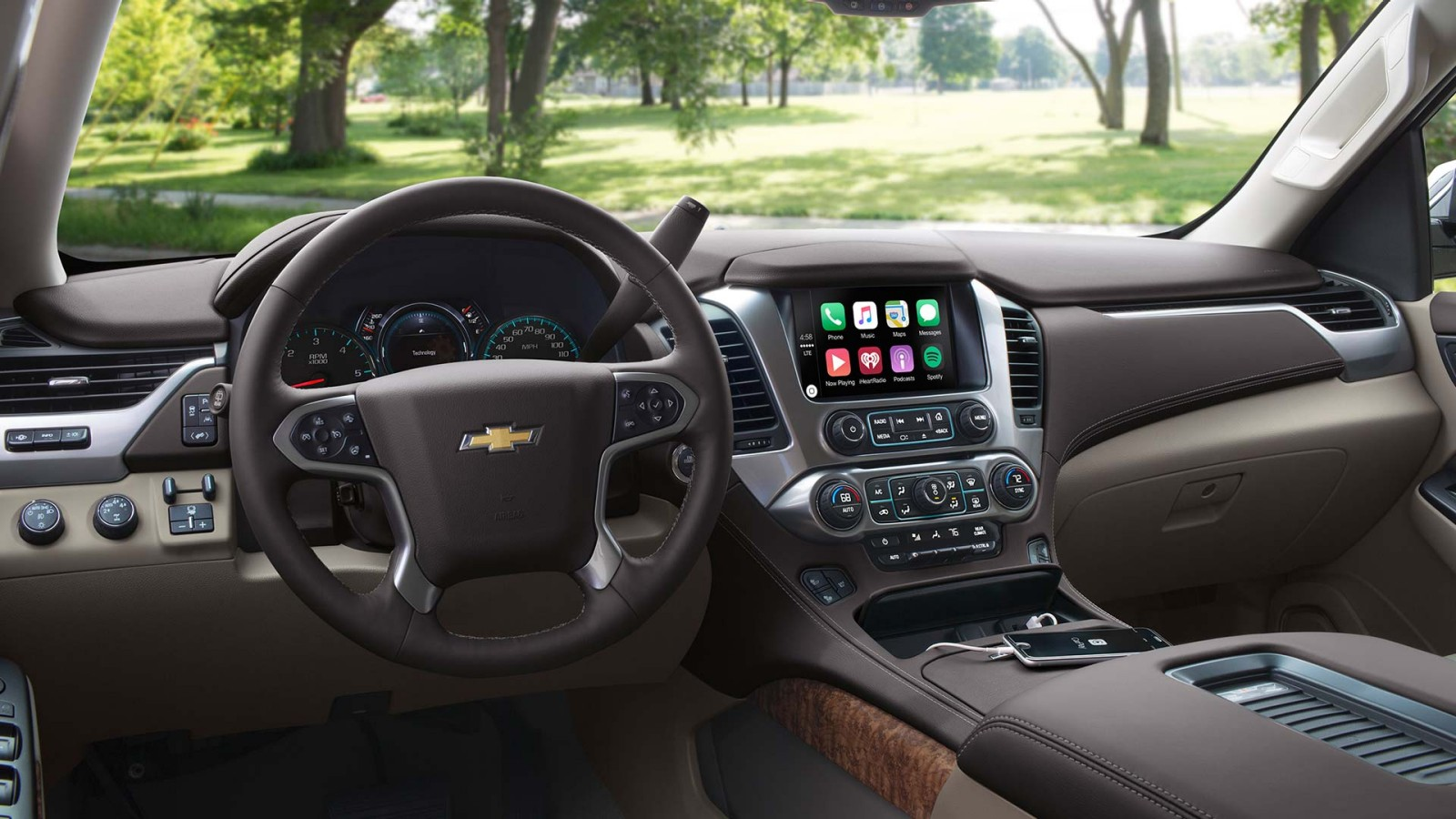 New Chevrolet Tahoe Interior main image