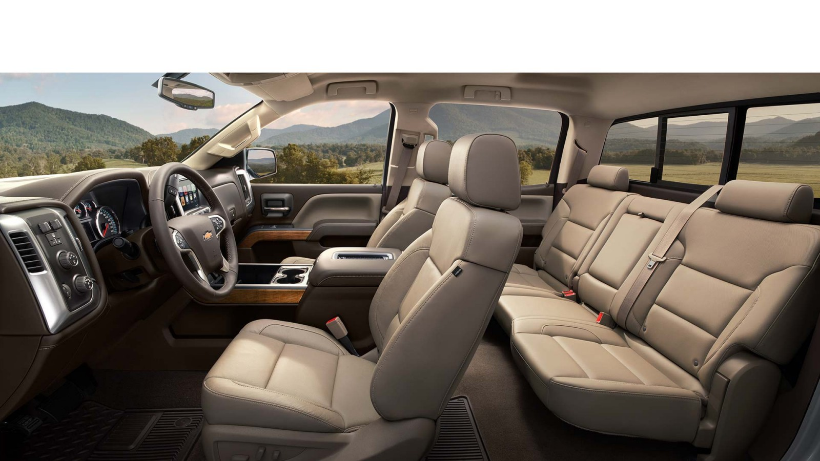 New Chevrolet Silverado 2500 Interior main image
