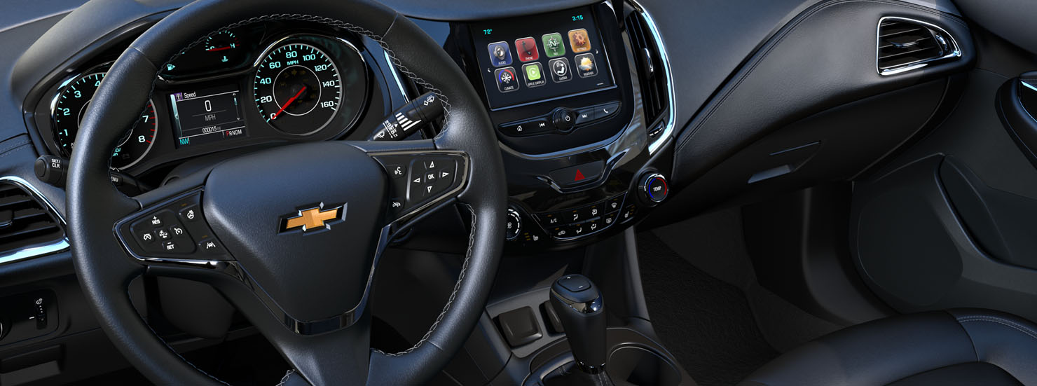 New Chevrolet Cruze Interior main image