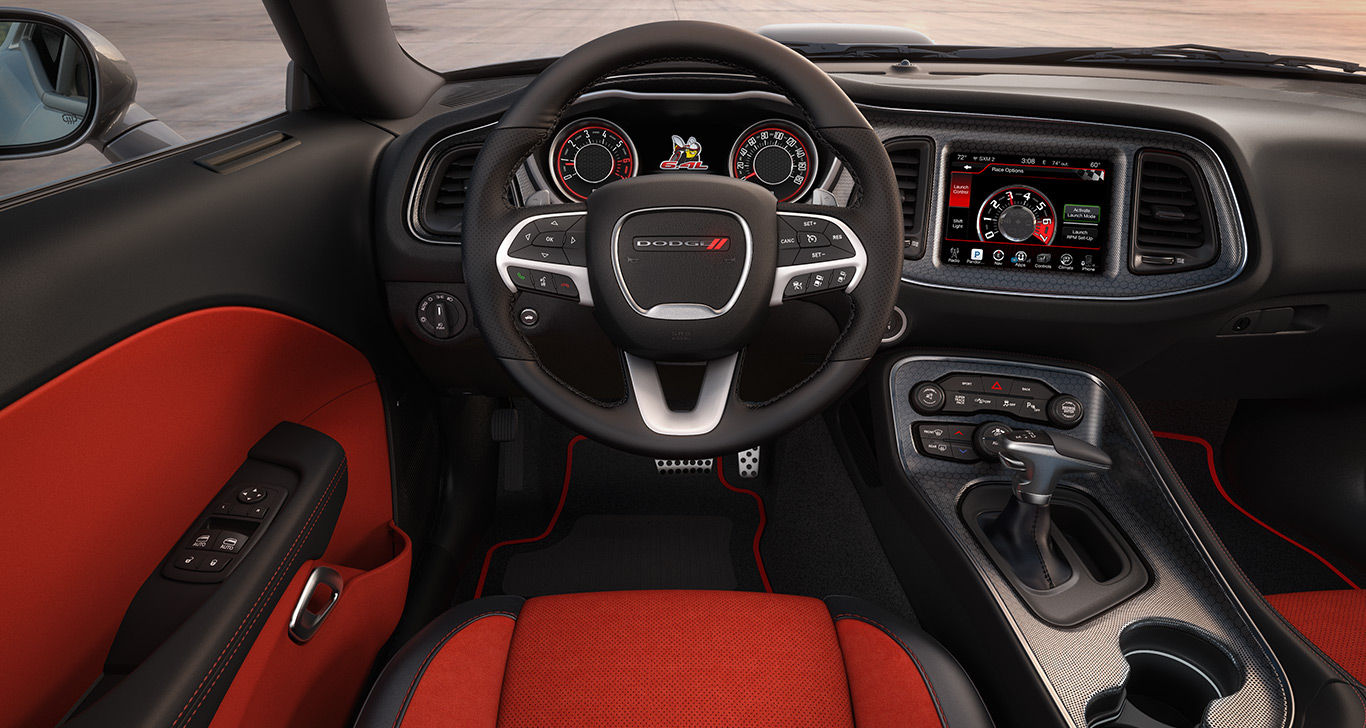 New Dodge Challenger Interior Features