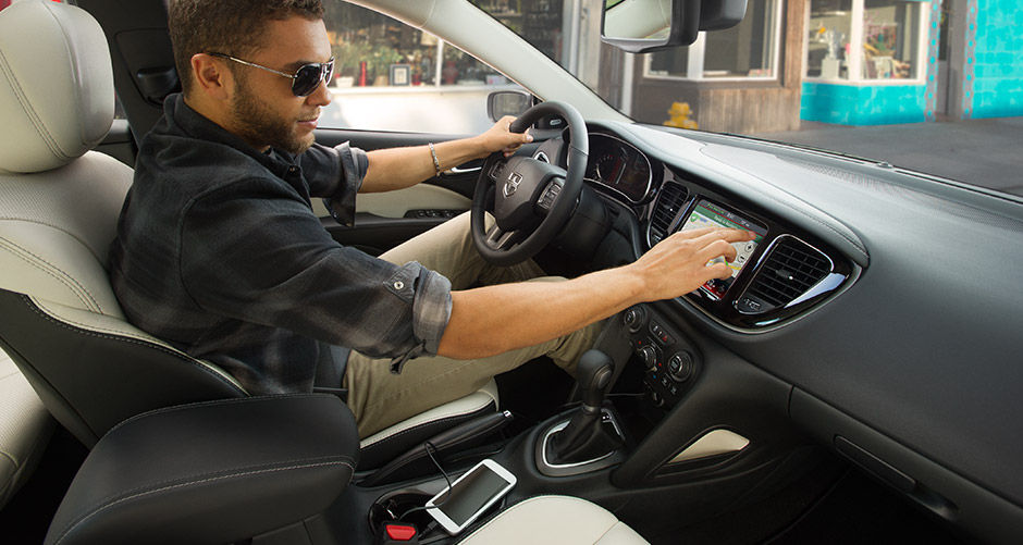 New Dodge Dart Interior Main Image