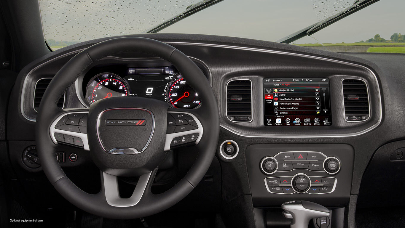 New Dodge Charger Interior Main Image
