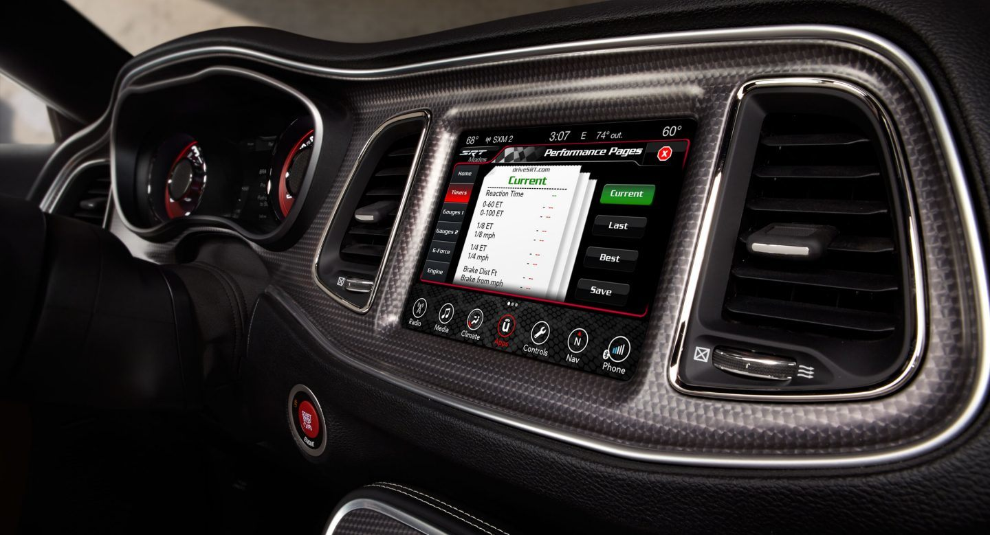 New Dodge Challenger Interior Image 1