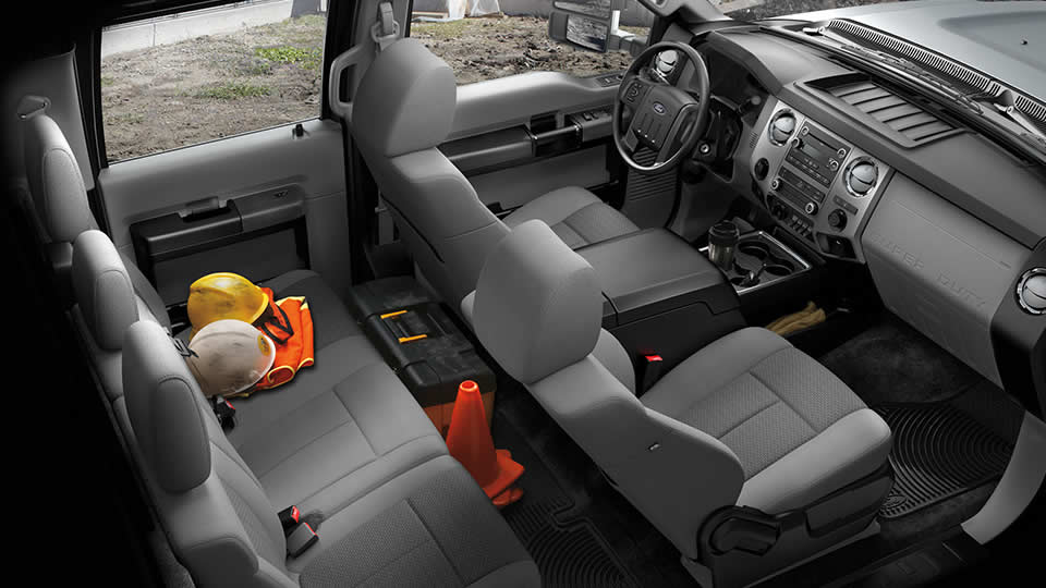 New Ford F 350 Interior Features