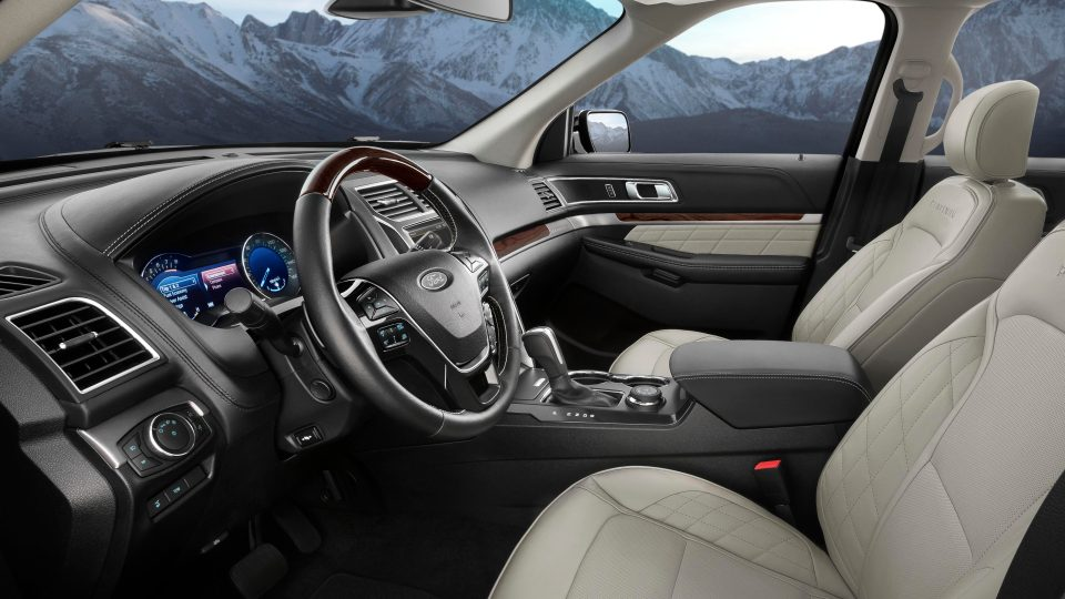 new ford explorer interior image 1