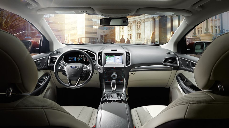 New Ford Edge Interior Details & Ford Edge Lease Deals u0026 Offers - Brewster NY markmcfarlin.com
