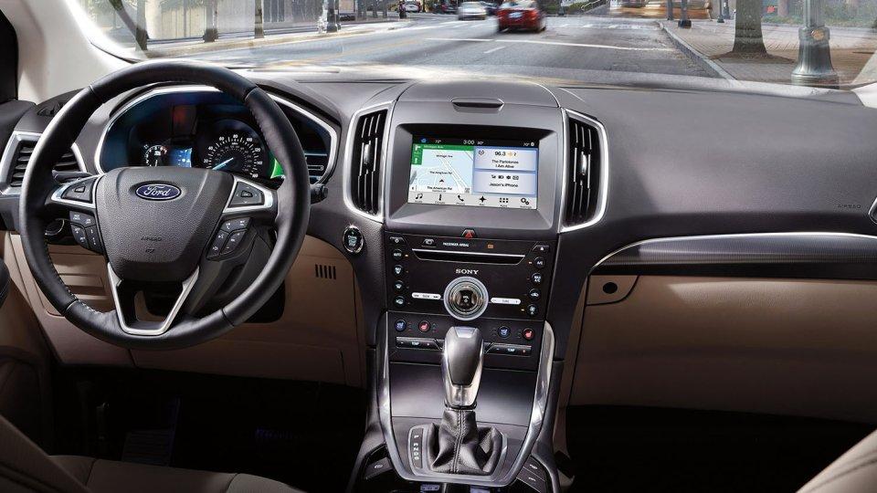New Ford Edge Interior Image