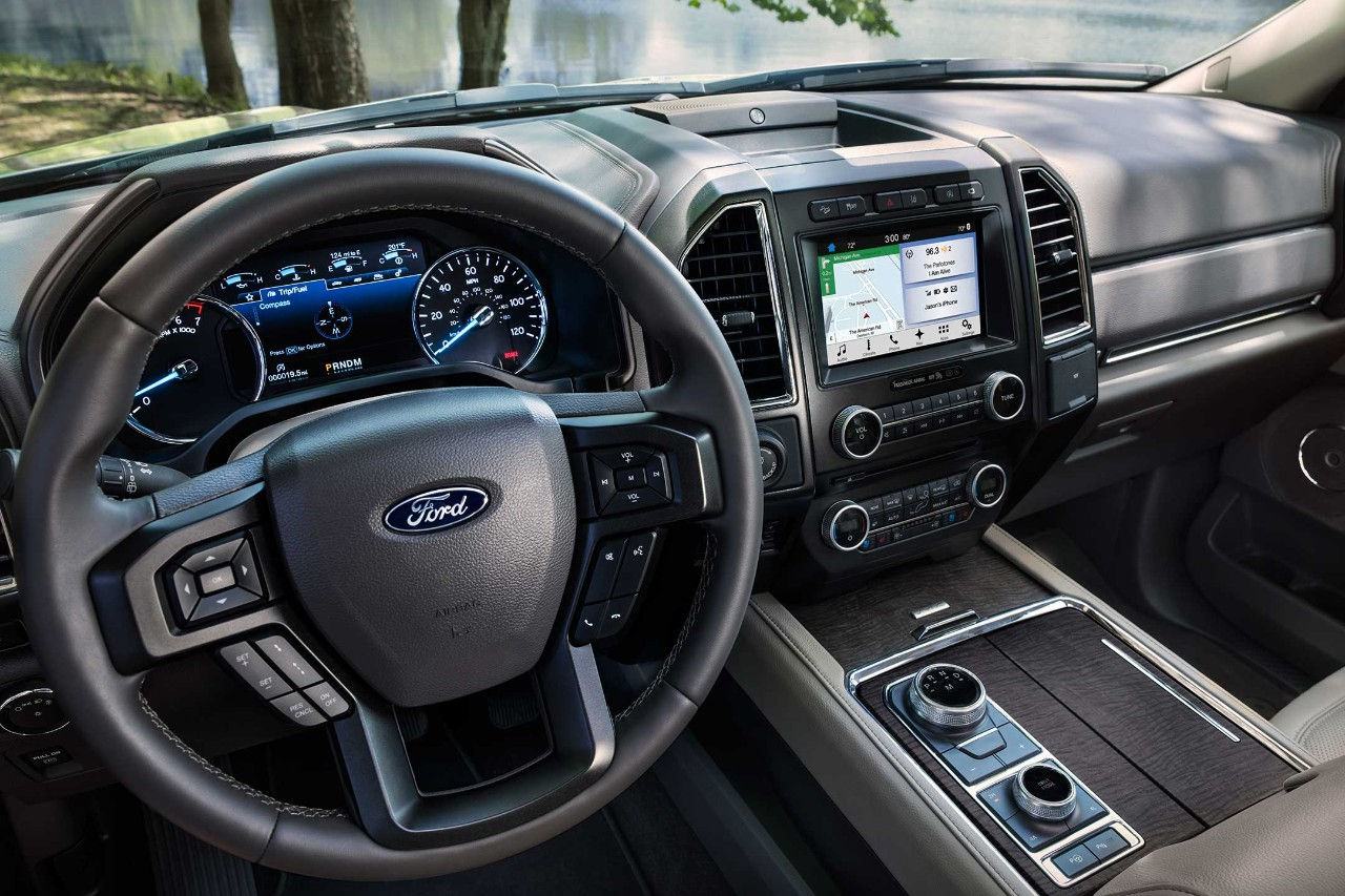 New Ford Expedition Interior Image
