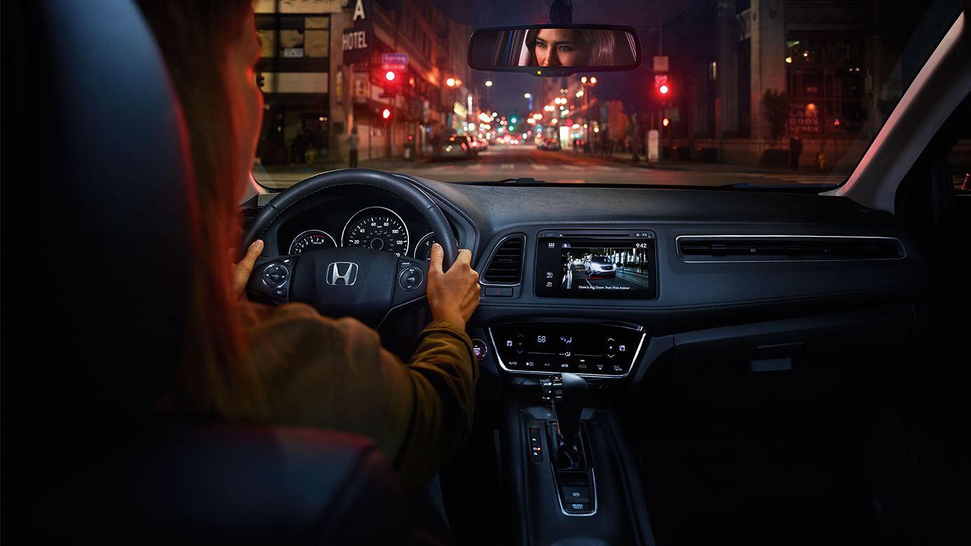 honda in hrv features gray leather detail new interior deals wa sumner crosstour