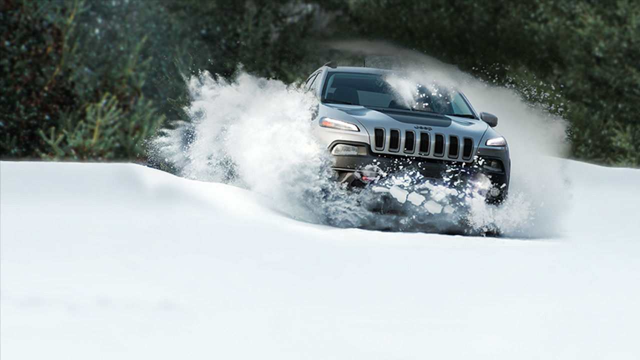 Trailhawk In Snow