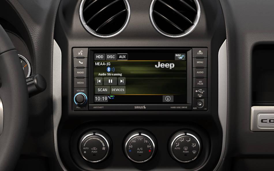 New Jeep Compass Interior image 1