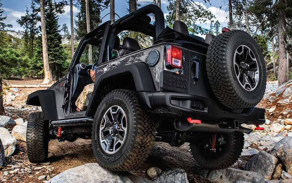 New Jeep Wrangler Exterior main image