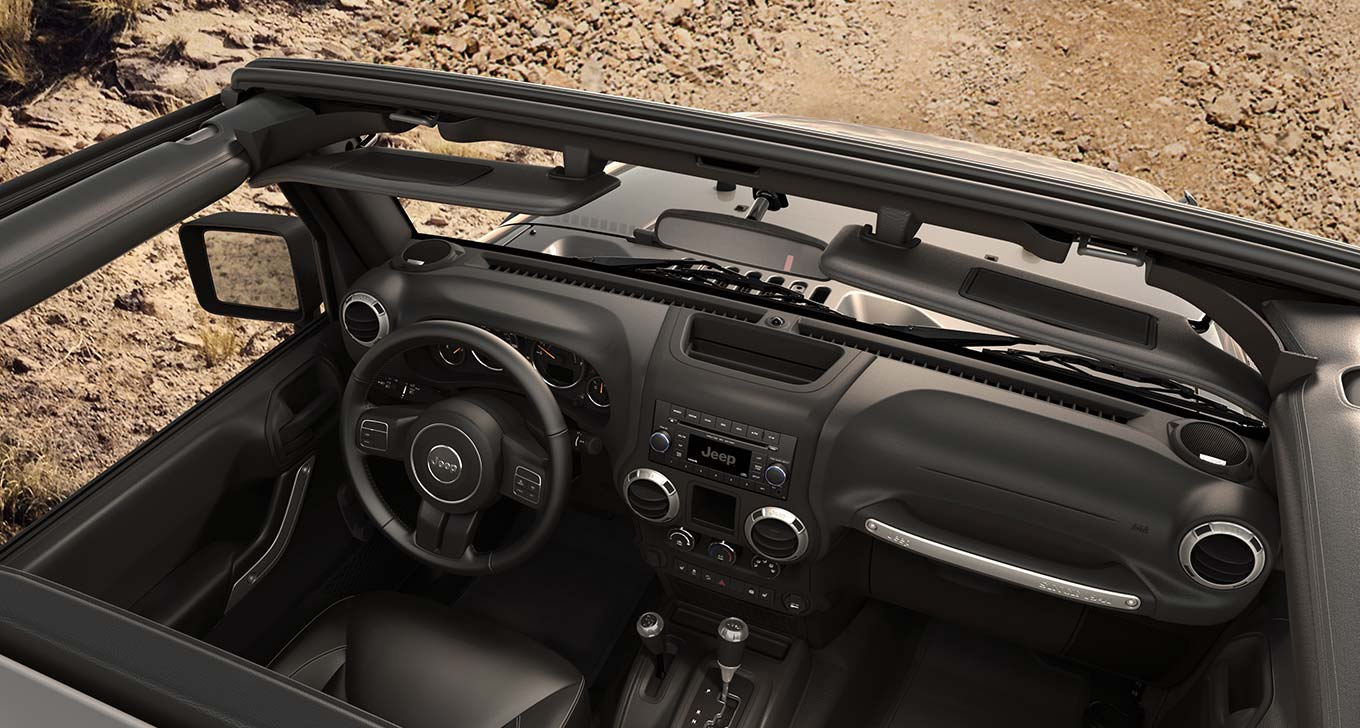 New Jeep Wrangler Interior main image