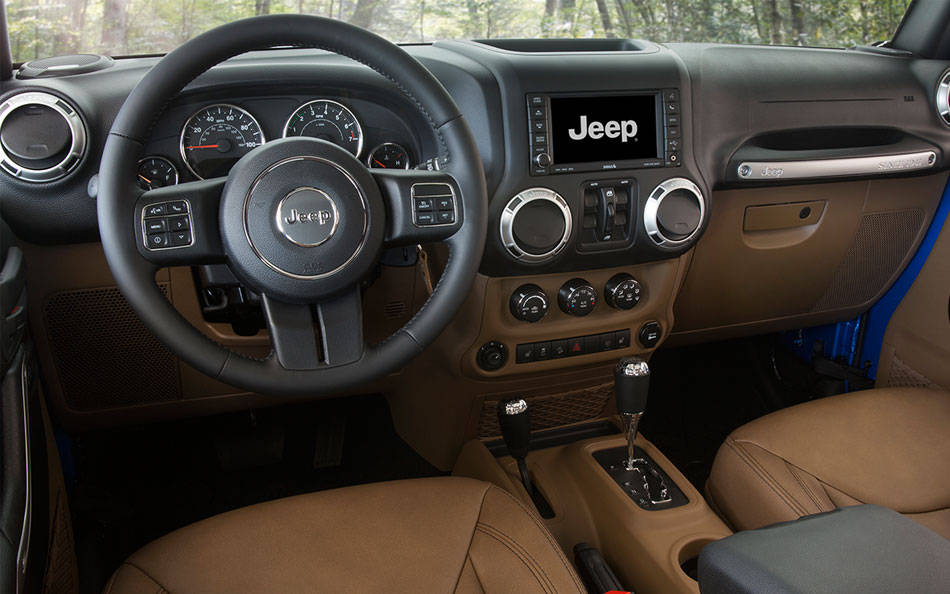 Attractive New Jeep Wrangler Unlimited Interior Image 1 Photo